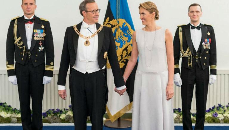 Foto: Ieva Ilvesa žilbina Igaunijas Neatkarības dienas svinībās