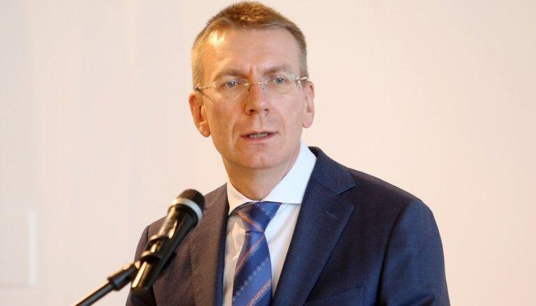 Uz Krievijas sankcijām vairākām ES struktūru un dalībvalstu amatpersonām būs atbilde, uzsver Rinkēvičs
