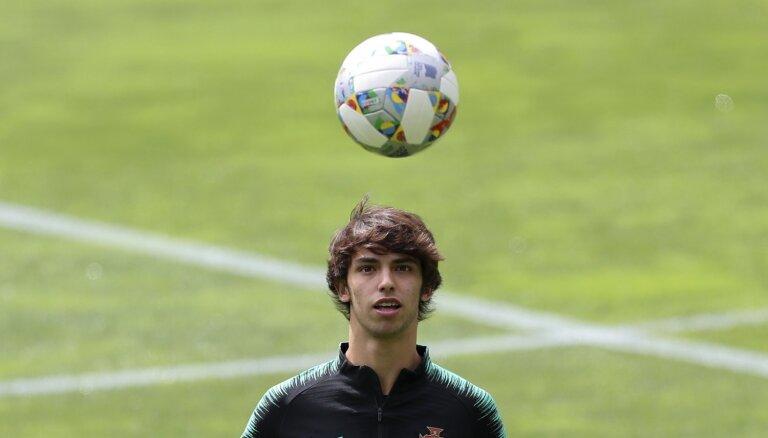 Talantīgs futbolists no Portugāles varētu kļūt par piekto dārgāko futbolistu pasaulē