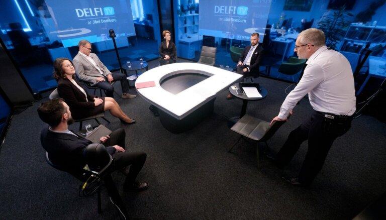 'Delfi TV ar Jāni Domburu' diskusija: 'Dzīvesbiedru un viendzimuma pāru statuss likumos – par vai pret?' Pilns ieraksts