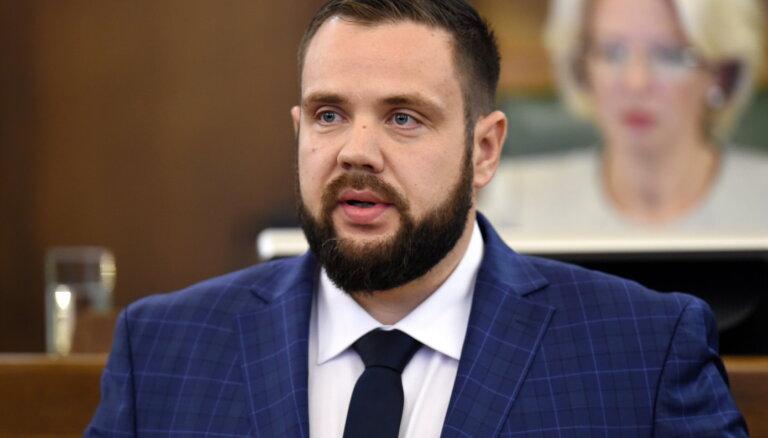 Сейм утвердил на должности министра экономики Яниса Витенбергса