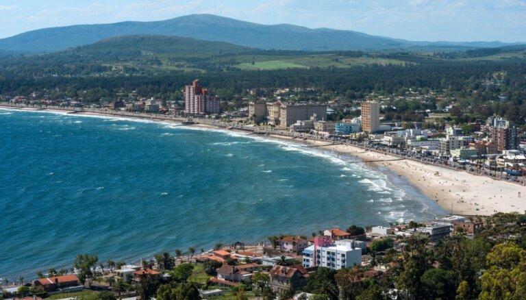 Argentīnā un Urugvajā pārtraukta elektroapgāde