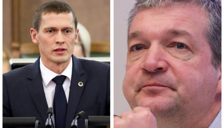 С сегодняшнего дня Юрашсу и Закатистову позволено возобновить работу в Сейме
