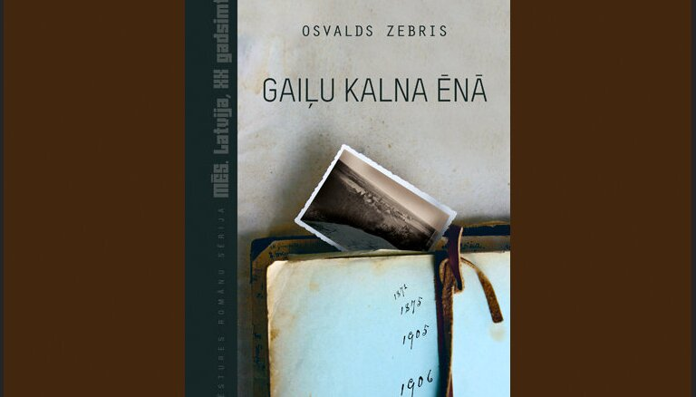 Iznācis Osvalda Zebra romāns 'Gaiļu kalna ēnā'