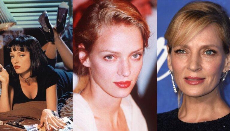 Talantīgā un valšķīgā Tarantino mūza: aktrisei Umai Tūrmanei – 50