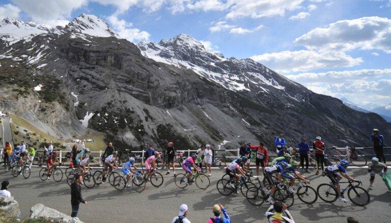 Pārceltās 'Giro d'Italia' sacensības startēs ar četriem posmiem Sicīlijā