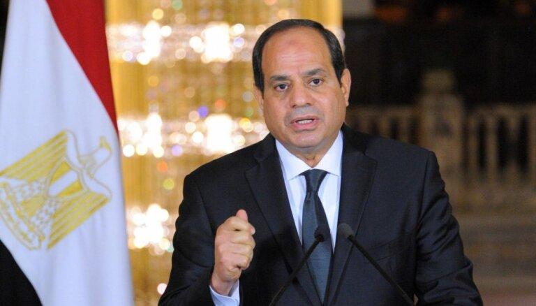 Ēģiptes prezidents apstiprina salu nodošanu Saūda Arābijai