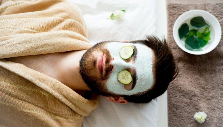 Vīrišķība nekur nepazudīs – speciālistes ieteikumi sejas ādas kopšanai