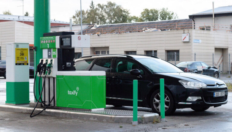 Taxify открывает заправку и обещает самое дешевое топливо в Таллине