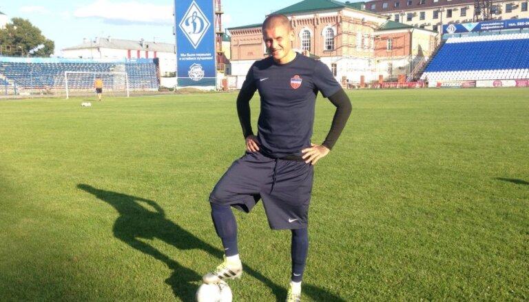 Форвард сборной Латвии вернулся играть в Россию