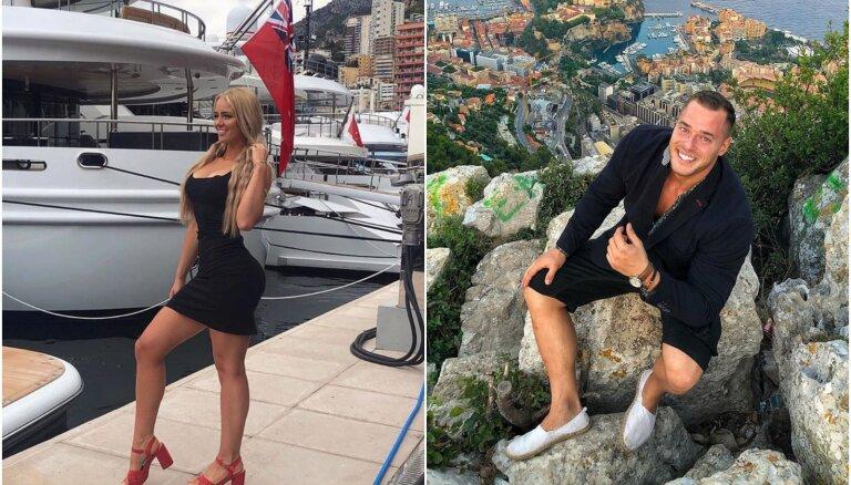 Foto: Fitnesa skaistuļi Pēteris un Paula žilbina Monako