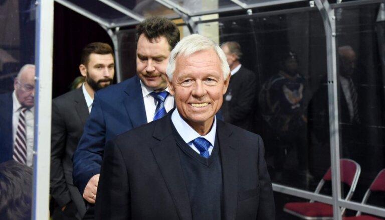 ФОТО: Сборная Латвии приятно удивила своего тренера