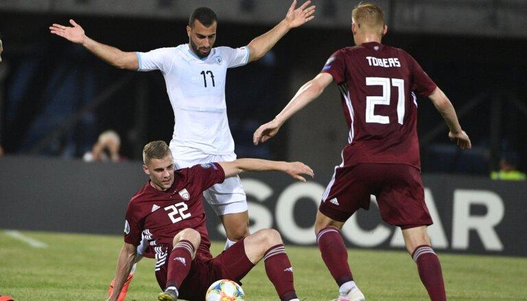 UEFA uzsāk disciplinārlietu par rasistisku uzvedību Latvijas-Izraēlas mačā