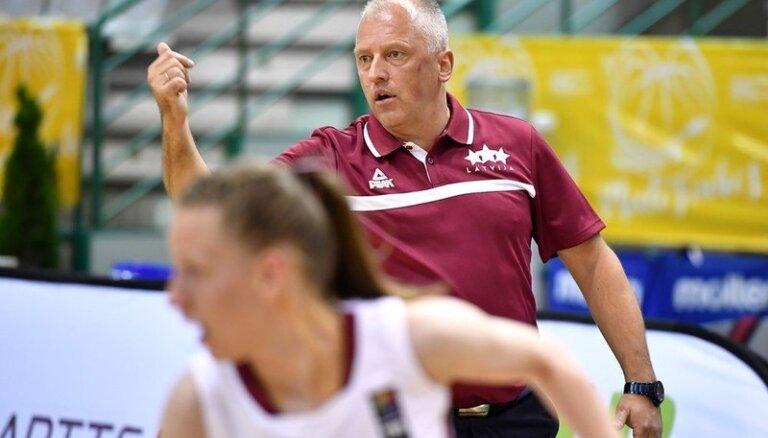 U-20 basketbolistēm čempionāts vēl nav beidzies, uzsver Nerips