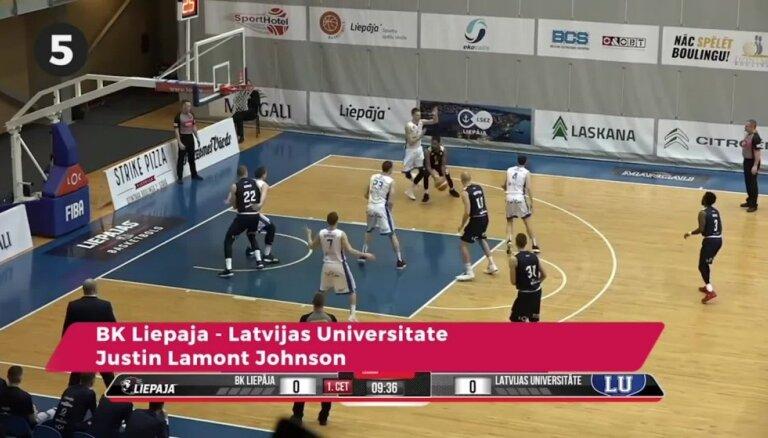 'OlyBet' basketbola līgas nedēļas TOP 5 (20.02.2019.)