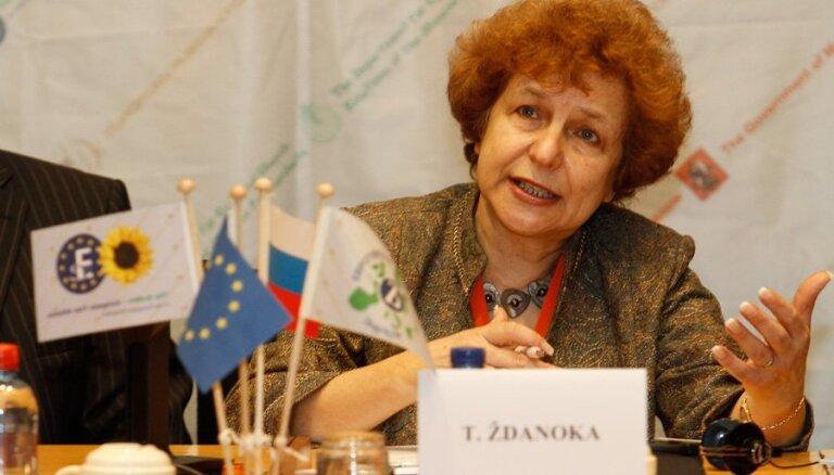 Eiropas Parlaments Ždanokas braucienu uz Krimu neapmaksās