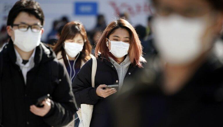 В окрестностях Бауски не осталось масок для лица: все раскупили живущие там китайцы