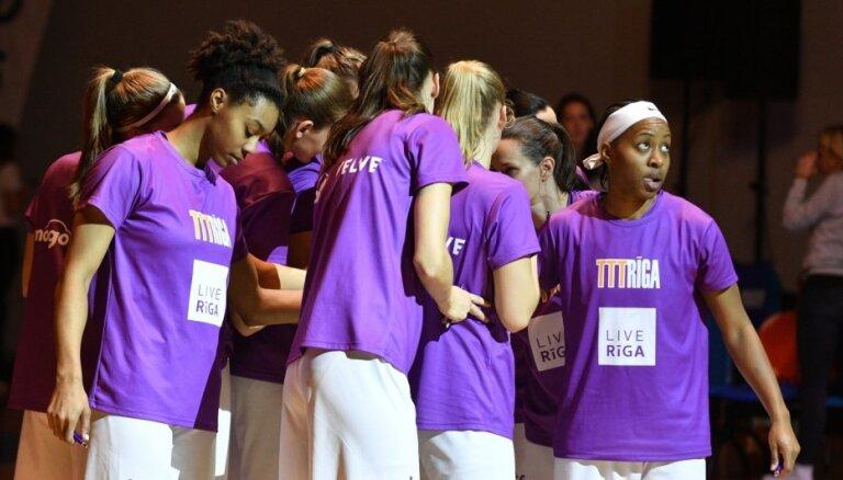 'TTT Rīga' basketbolistes Grieķijā gūst trešo uzvaru FIBA Eirolīgā