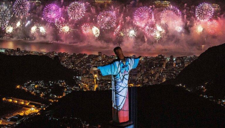 Foto: Pasaulē sagaida jauno 2020. gadu