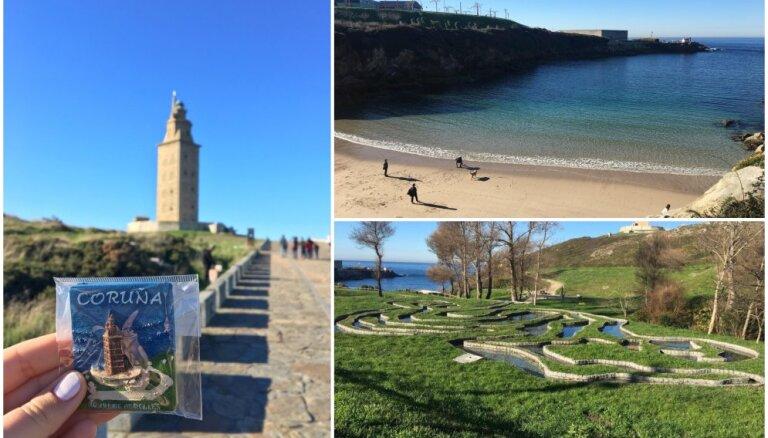 Unikālu dabasskatu meklējumos: īsas brīvdienas Spānijas piekrastes pilsētā Akoruņā