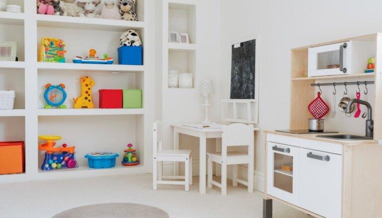 Bērniem draudzīgas telpas – padomi, ko vērts ņemt vērā