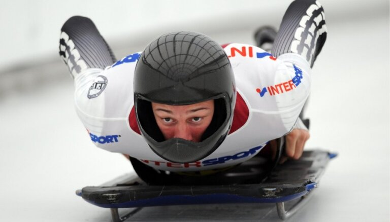Martins Dukurs triumfē Pasaules kausa otrajā posmā