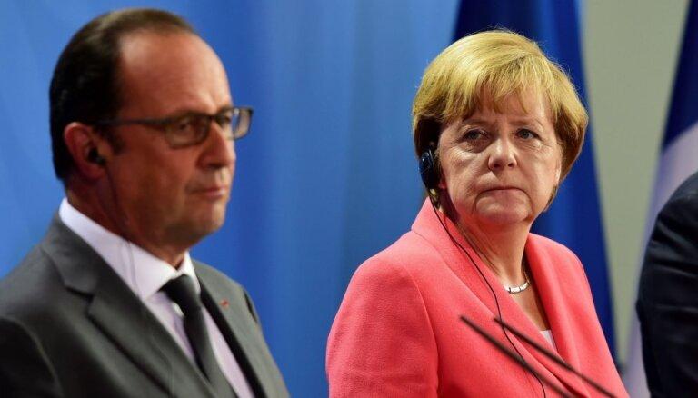 Merkele, Olands un Renci augustā rīkos 'Brexit' veltītu samitu