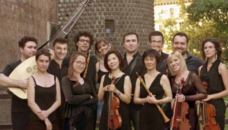 Senās mūzikas festivālu atklās Itālijas baroka orķestris 'Coin du Roi'