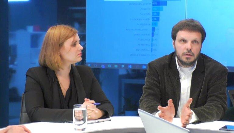 """Эксперты на Delfi TV: на самом деле поддержка """"Согласия"""" выше"""