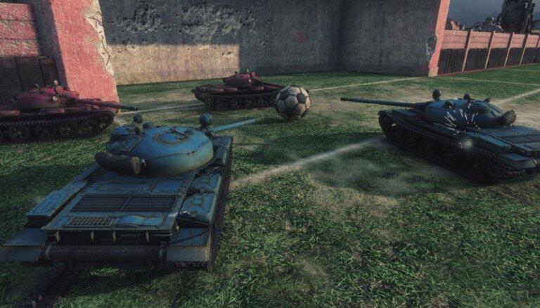 В World of Tanks можно будет сыграть в футбол на танках