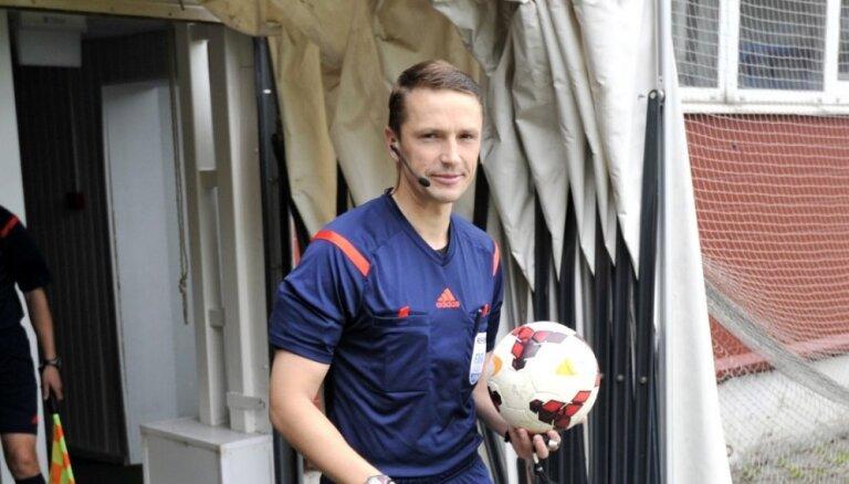 Treimaņa brigāde tiesās UEFA Eiropas līgas spēli starp 'Arsenal' un 'Stade Rennais'
