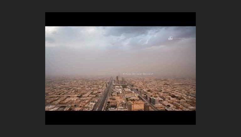 Апокалиптическое видео: Песчаная буря над Эр-Риядом