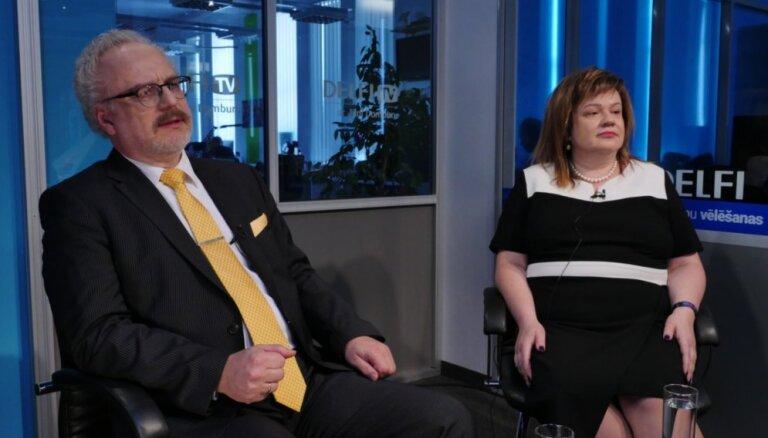 'Delfi TV ar Jāni Domburu': saruna ar Elitu Krūmiņu un Egilu Levitu