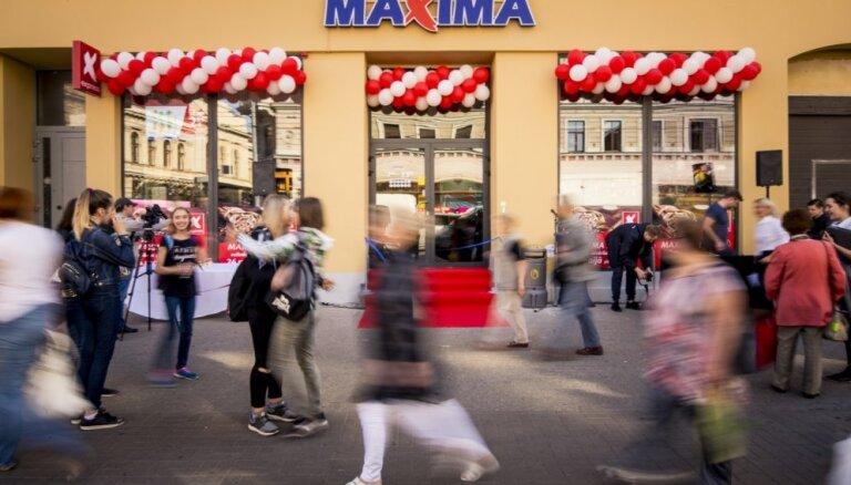 Maxima планирует вложить почти 4 млн евро в модернизацию пяти магазинов