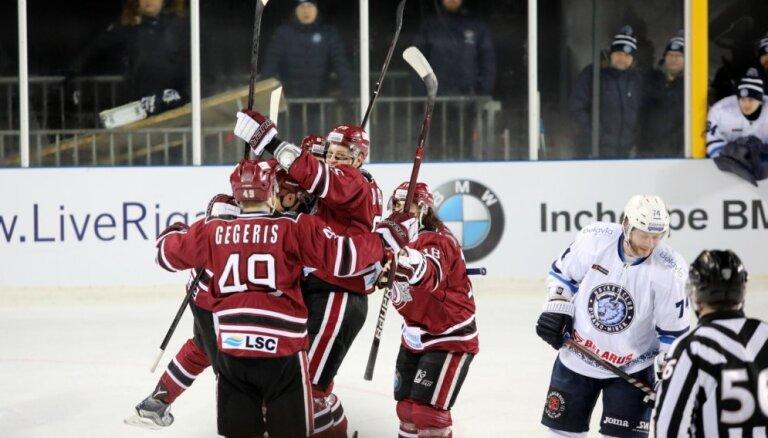 Rīgas 'Dinamo' uzvar 'Winter Ice break 2019' un turpina cīņu par vietu 'play off'