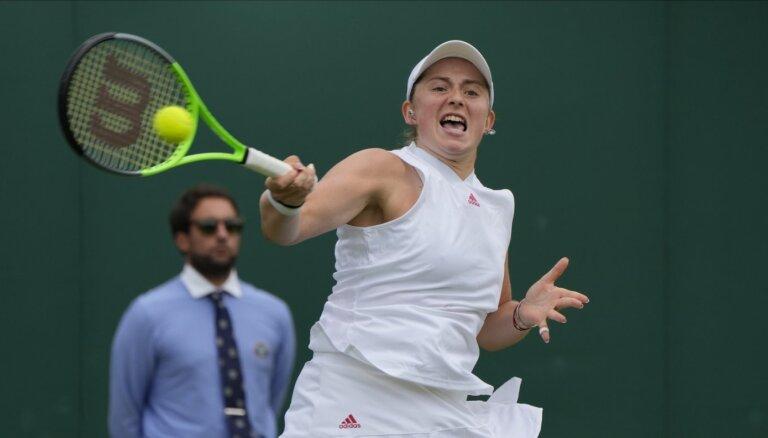 Vimbldona 2021: Latvijas tenisistēm uzvaras vairo pārliecību; gatavas jauniem izaicinājumiem