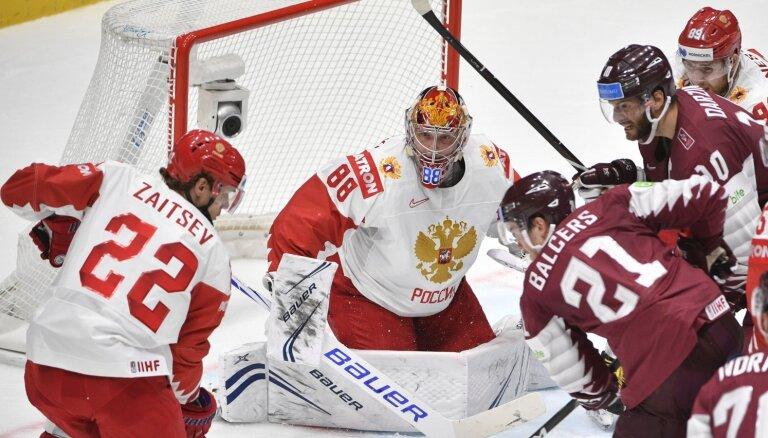 Сборная Латвии проиграла России — шансов на четвертьфинал почти не осталось