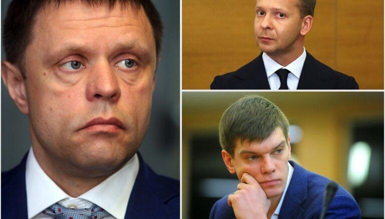 Četrus Rīgas domes deputātus izslēdz no 'Saskaņas'