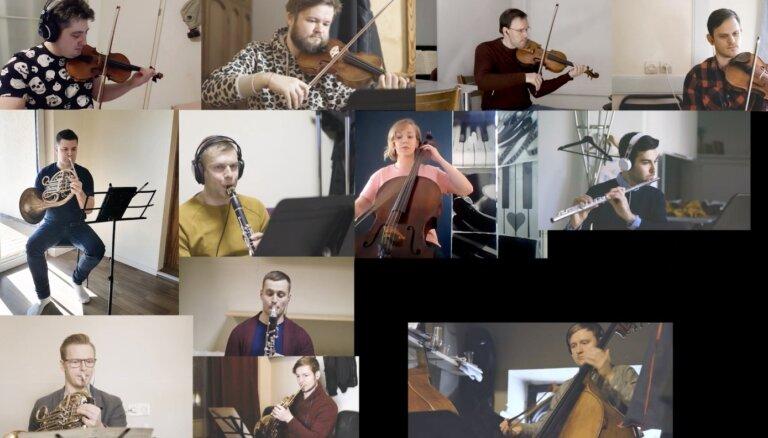 Noskaties! LNSO mūziķi no pašizolācijas sūta videosveicienu klausītājiem