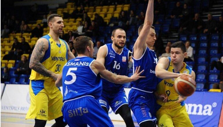 Video: 'Ventspils' turpina uzvaru gājienu; LU piesakās uz Latvijas čempionāta 'play off'