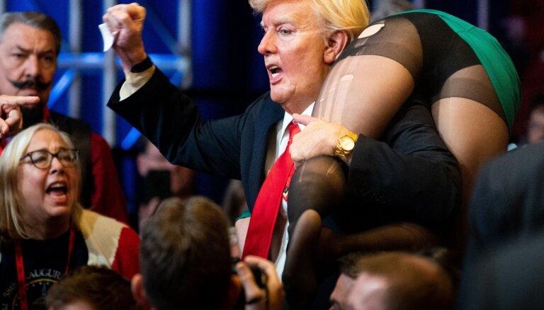 Āksta karagājiens pret Trampa Ameriku. Borata jaunās filmas apskats