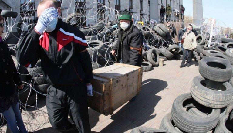 Notikumi Ukrainas austrumos ir Krievijas specoperācija, paziņo Turčinovs