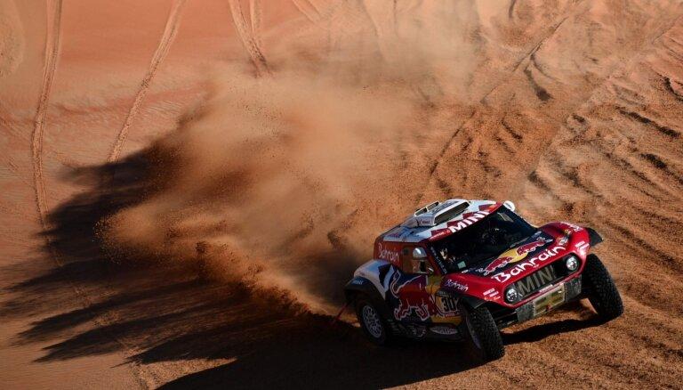 Peteransels uzvar 'Dakaras' priekšpēdējā posmā un tuvojas Sainsam kopvērtējumā