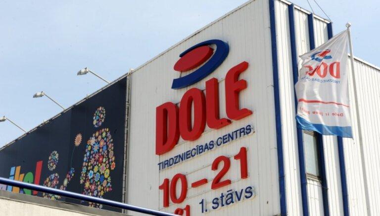 Pārdots tirdzniecības centrs 'Dole'