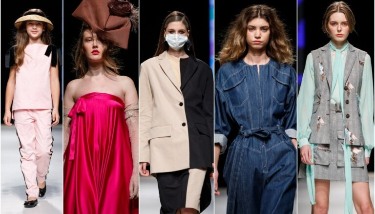 Rīgas modes nedēļas noslēgums: bērnu stils, 'Amoralle', 'Nolo' un citi