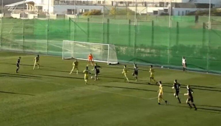 UEFA izmeklē aizdomīgu FK 'Ventspils' pārbaudes spēli