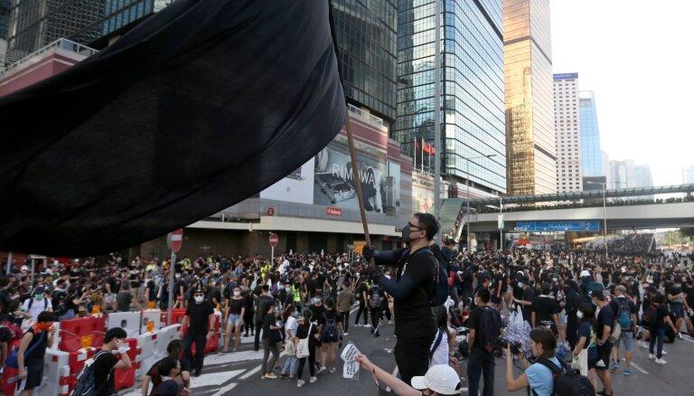 Вдохновившись Балтийским путем, протестующие Гонконга тоже хотят создать живую цепь