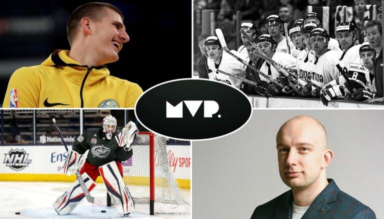 'MVP': Hokeja izlases jaunais 'mūris', negribētais MVP un persiks treneru dārziņā