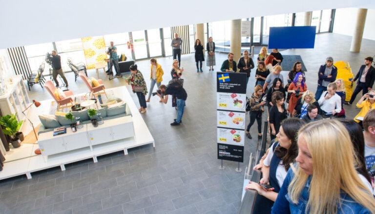 IKEA в Латвии впервые проводит распродажу товаров