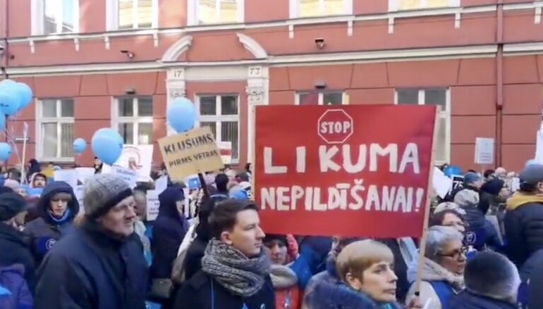 Video: Pedagogi pie Saeimas prasa algu palielinājumu